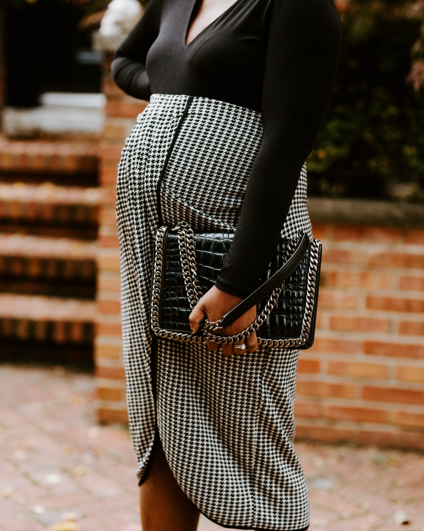 what to wear to work when pregnant stretchy Knit Skirts