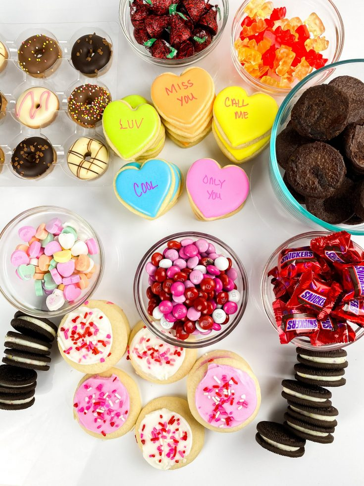 Valentine's Charcuterie Board for Kids